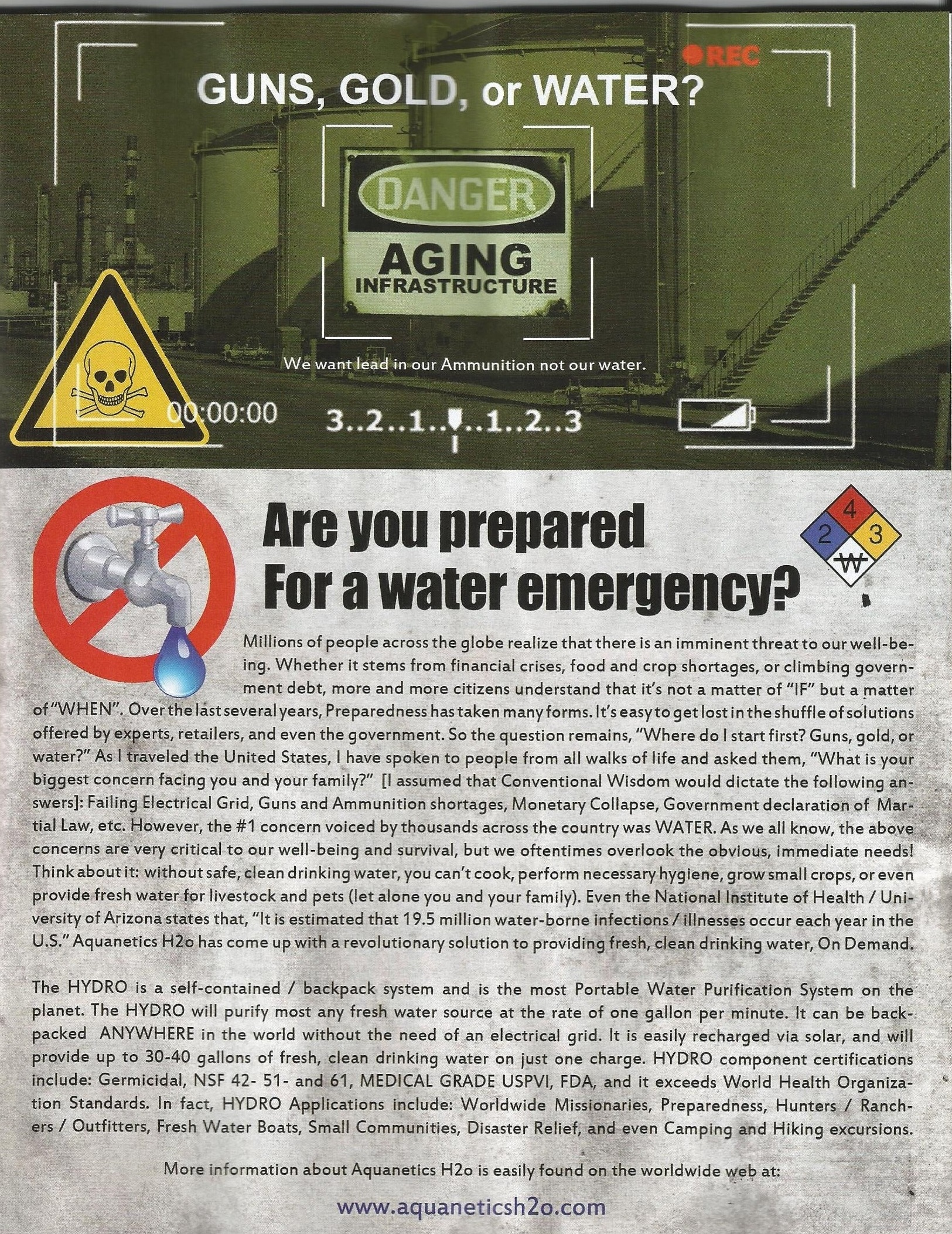 DISASTER SURVIVAL ARTICLE 001